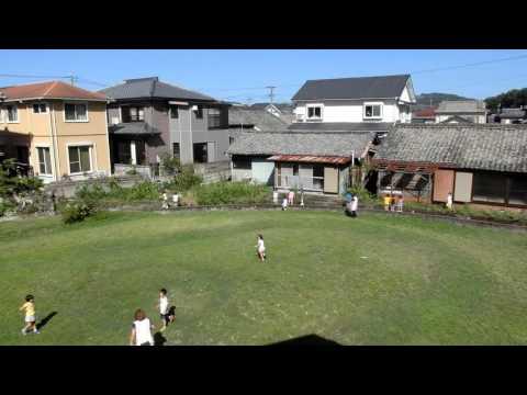 加津佐町の若木保育園 午前9時頃の様子