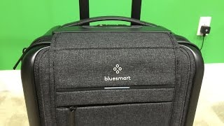Bluesmart Smart Carry-On Suitcase Unboxing