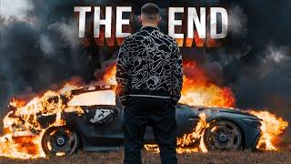 Pojechał na pole, posłuchał wydechu i spalił nowiutkiego Mercedesa-AMG GT 63 S za ponad milion złotych