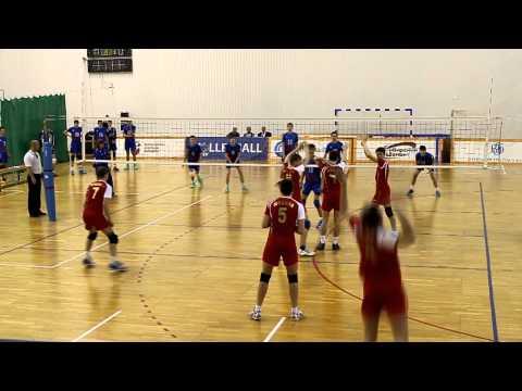 Волейбол. Юноши 1999 г.р. Финал России 2014. Бауманская (Москва-21) (видео)