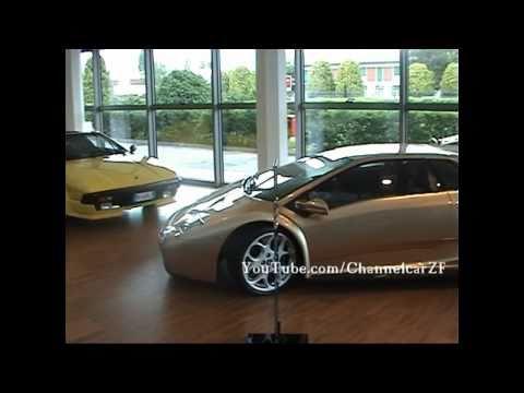 Lamborghini Factory Museum - 720p HD