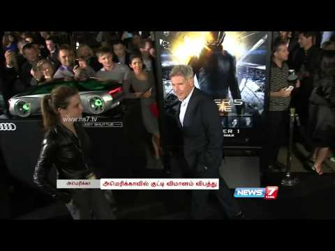 Hollywood actor Harrison Ford injured in small plane crash in Los Ange