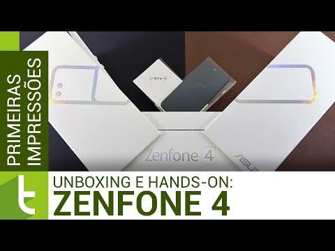 Unboxing e primeiras impressões do Asus Zenfone 4  TudoCelular.com