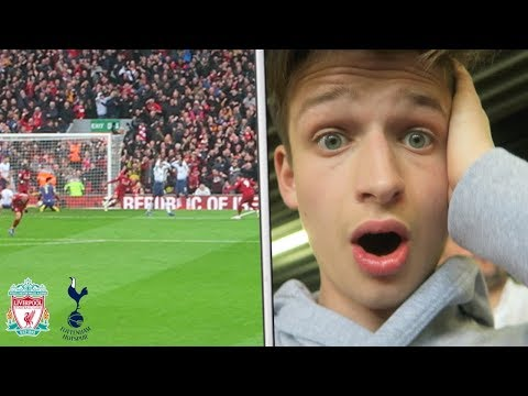 THE MOMENT LIVERPOOL SCORED TO GO TOP OF LEAGUE Vs Tottenham