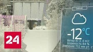 Морозы покидают Москву