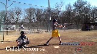 Madill (OK) United States  city photos gallery : Player Nation USA - 2018 Caleb Nixon - Hitting 2/8/15