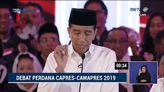 Video Debat Pilpres 2019 Part 7 - Jokowi Tanya ke Prabowo Soal Eks Napi Koruptor Jadi Caleg Gerindra MP3, 3GP, MP4, WEBM, AVI, FLV Februari 2019