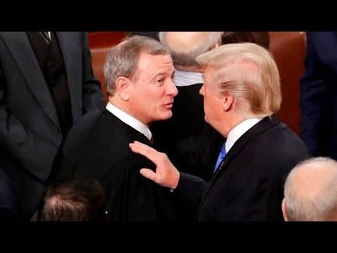USA: Oberster Richter John Roberts kritisiert Trump weg ...