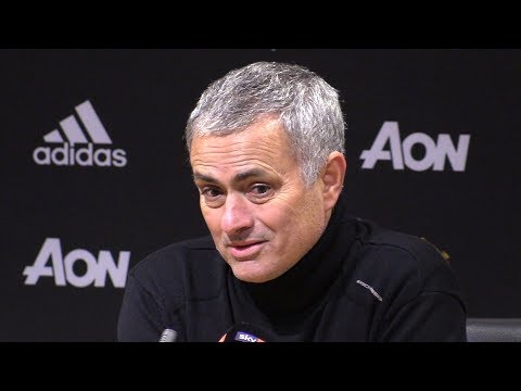 Manchester United 1-2 Manchester City - Jose Mourinho Full Post Match Press Conference - #MUNMCI (видео)