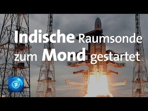 Indien auf dem Weg zum Mond: Weltraummission »Chandray ...