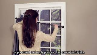 Twist and Lock Window Rod Video