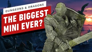 Dungeons and Dragons: Unboxing the Walking Statue of Waterdeep 'Miniature' by IGN
