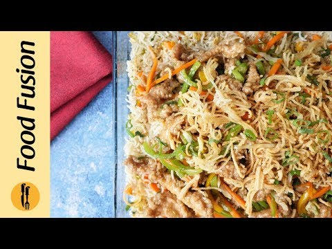 Crispy Chicken With Fried Rice Platter Recipe By Food Fusion (Iftar Dinner Special)
