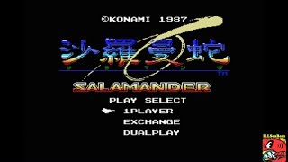 Salamander (MSX Emulated) by ILLSeaBass