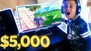 Video *SURPRISING* MY LITTLE BROTHER WITH AN INSANE GAMING SETUP!!! (EPIC REACTION!!) - FORTNITE MP3, 3GP, MP4, WEBM, AVI, FLV Maret 2019