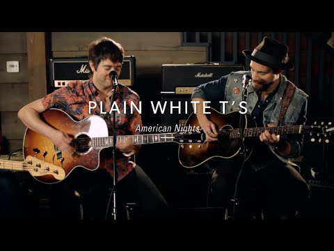 """Plain White T's """"American Nights"""" At Guitar Center"""