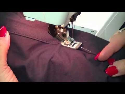 Sewing Machine Tips And Tricks: How To Hem Mens' Chino Style Trousers