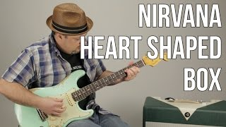 """Download Lagu How to Play """"Heart Shaped Box"""" on guitar - Nirvana Guitar Lessons Mp3"""