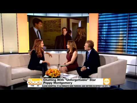 """""""Unforgettable"""" Star Poppy Montgomery Visits The Couch"""