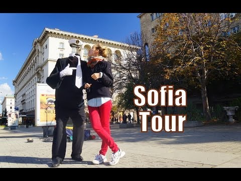Our first impressions traveling in Sofia, Bulgaria as we walked around