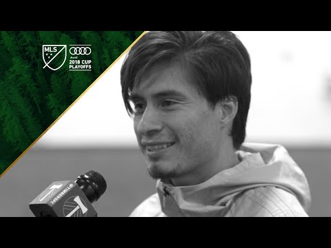 Video: Jorge Villafaña | MLS Cup Playoffs Timbers Training | Nov. 28, 2018