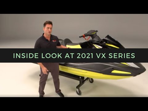 Take an Inside Look at Yamaha's New 2021 VX Series WaveRunners