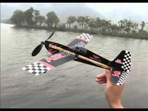 """Самолет ZT Model """"Sky-Touch"""" с резиномотором (ZT-AA00501)"""