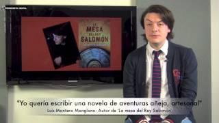 Luis Montero Manglano, autor de 'La mesa del Rey Salomón'. 27-2-2015