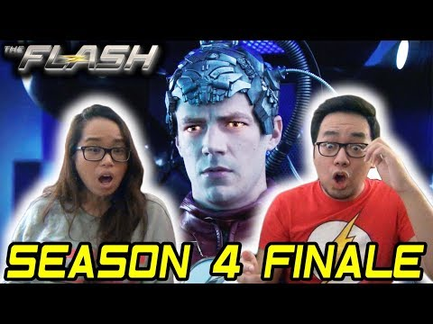 THE FLASH Season 4 Episode 23 REACTION 4x23 FINALE REVIEW