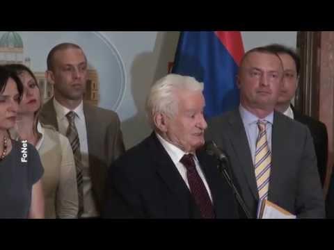 Драгољуб Мићуновић: Прекид седнице због чувања достојанства парламента