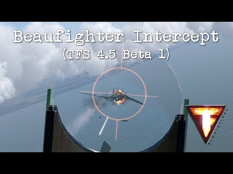 IL-2 Cliffs of Dover - Beaufighter Intercept (TFS 4.5 Beta 1)