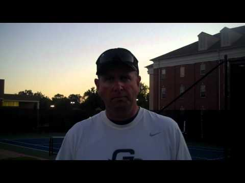 Steve Barsby - Women's Tennis Fall Championships Day 1