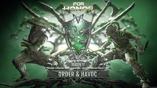 For Honor: Season 4 - Order & Havoc | Cinematic Reveal Trailer