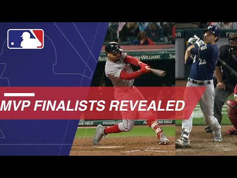 Video: MLB announces the 2018 Most Valuable Player finalists