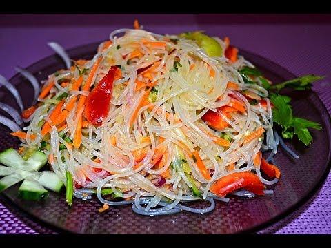 Рецепт фунчозы с курицей и овощами фото