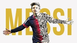 Lionel Messi: Career Timelapse Artwork | Messi By Numbers