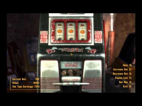 Fallout New Vegas Casino Tops JACKPOT!