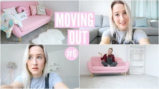 Video My First Night Alone + TWO Sofa Deliveries | Moving Vlog 6 MP3, 3GP, MP4, WEBM, AVI, FLV Oktober 2018