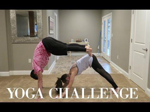 couples yoga challenge !!!!