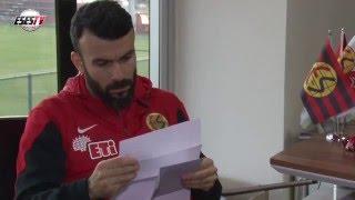 Taraftarımızdan Futbolcularımıza Mektup !