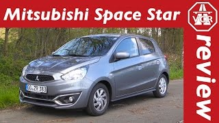 2016 Mitsubishi Space Star 1.2 MIVEC ClearTec - In Depth Review, Full Test, Test Drive by Video Car Review