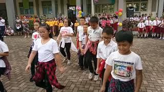 Dance Megace Calaka I am the beast dance ( SD Gembala Baik II,Pontianak )