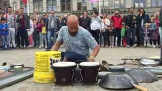 Video Incredible drummer in Amsterdam © #trash  rave techno Dario Rossi Drummer MP3, 3GP, MP4, WEBM, AVI, FLV Juli 2017
