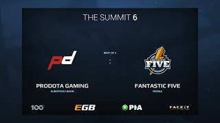 ProDota Gaming vs Fantastic Five, Game 1, The Summit 6 Qualifiers, Europe