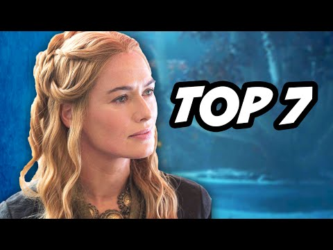 Game Of Thrones Season 5 Episode 7 - TOP 7 WTF