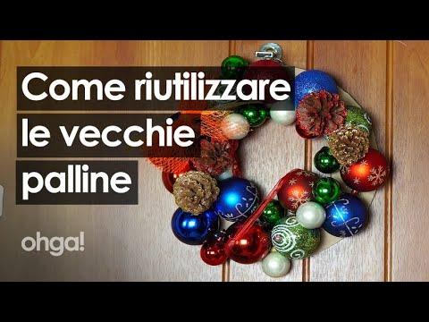 Come riutilizzare le vecchie palline di Natale e trasformarle in nuove decorazioni