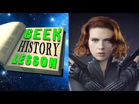 History of Black Widow - Geek History Lesson