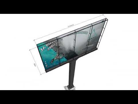 How to Install Outdoor Advertising LED Screen / Outdoor Big LED Sign