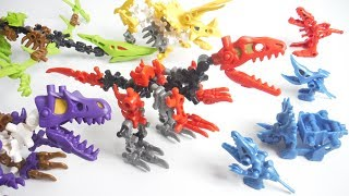 Video ほねほねザウルス ブロックス 2018 全4種 開封 組立 Dinosaur Figure 食玩 Japanese candy toys MP3, 3GP, MP4, WEBM, AVI, FLV November 2018