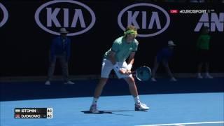 Лучший матч в карьере Дениса и один из самых зрелищных на Australian Open 2017 Послематчевое интервью: http://www.gotennis.ru/rea...